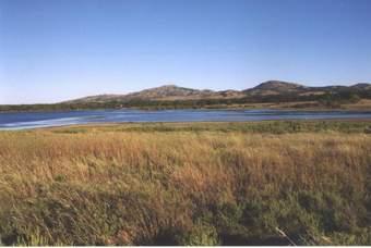 Prairie, Lake & Mountains
